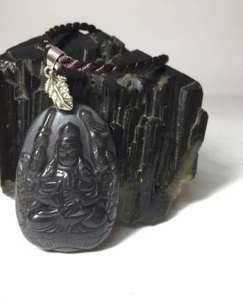 Thiên Thủ Thiên Nhãn đen Obsidian